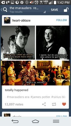 What happens when The Marauders sneaked Firewhiskey into Moony's drink