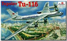 AModel AMO 72031 TU-116 1/72