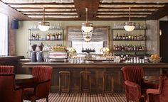 Soho House Chicago- lounge and rooftop bar!