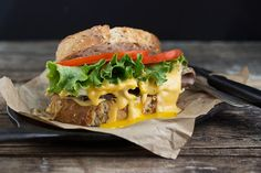 Weekend Menu: Roast Beef Sandwich with Cheddar Ale Sauce