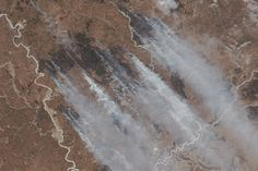 Forest Fires in Russia's Far East : Image of the Day : NASA Earth Observatory