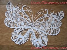 "Stencils ""Butterflies"" -Butterfly templates - Master classes on cake decorating Cake Decorating Tutorials (How To's) Tortas Paso a Paso"