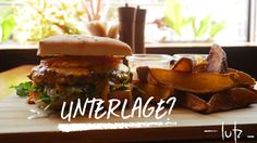 lutz-Burger Hamburger, Chicken, Ethnic Recipes, Food, Essen, Burgers, Meals, Yemek, Eten