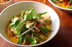 This healthier take on chicken laksa will win a place in your heart and your repertoire.