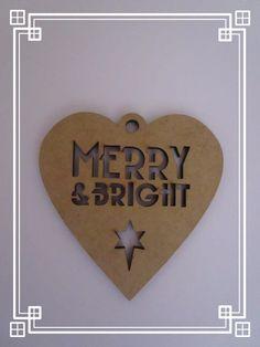 Wooden MDF Hearts Shape ,Craft Shape,Tags Embellishments,Decoration Christmas www.upsiedaisy.co.uk