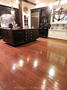 Hometalk :: No Sanding, No Mess, Non Toxic, Hard Wood Floor Refinishing