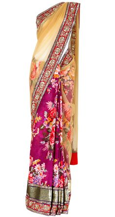 Saree by Sabyasachi Mukherjee