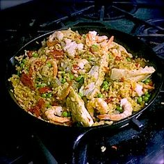 Healthy Paella for a Daring Cook