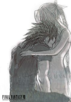 Zack & Aerith (Final Fantasy VII Crisis Core) Why does he have to be so sad