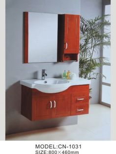 Java Gel Stain Over Oak Cabinets With A Java Trimmed Mirror, Refurbished  Medicine Cabinu2026 | My Bathroom | Pinterest | Java Gel Stains, Java Gel And  Medicine ...