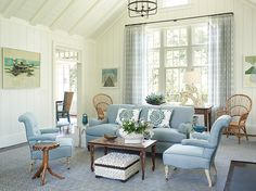 stunning east hampton living room design | 438 Best Inspired by the Hamptons images | Living Room ...