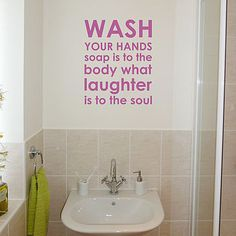 for the kids' bathroom