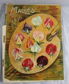 1896 Goregous Flower Seed Catalog Maules Philadelphia PA