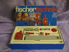 fischer technik Motor Baukasten aus den 70er Jahren
