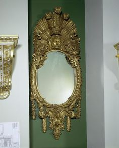Mirror  Place of origin: London, England (probably, made)  Date: 1735-1740 (made)  Artist/Maker: William Kent (possibly, designer)  Boson, J...