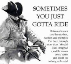 Discover and share Cowboy Logic Quotes. Explore our collection of motivational and famous quotes by authors you know and love. Rodeo Quotes, Cowboy Quotes, Western Quotes, True Quotes, Great Quotes, Dumb Quotes, Strong Quotes, Cowboy Poetry, Cowboy Prayer