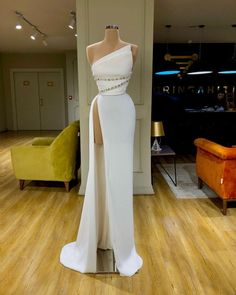 White evening dresses simple mermaid elegant cheap formal dresses CR 7874 - You are in the right place about Formelle kleider Here we offer you the most beautiful pictures ab - Cheap Formal Dresses, Elegant Dresses For Women, Glam Dresses, Event Dresses, Pretty Dresses, Fashion Dresses, Sexy Dresses, Summer Dresses, Wedding Dresses