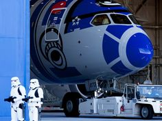 Japanese carrier ANA unveils its new R2-D2 Star Wars-themed