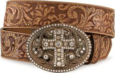 Cowgirls need a little bling. Comes in black too.