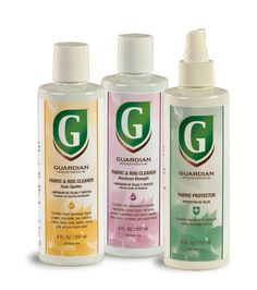 Guardian Protection Products: Fabric Care Products || Image Source: https://www.guardianproducts.com/media/16903/fabricgroup.png