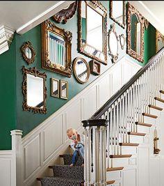 Wonderful Hauseingang, Treppe, Mein Haus, Haus Ideen, Wandgestaltung, Rahmen,  Einrichtung, Rund Ums Haus, Deko
