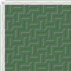projet de l'image: Figurierte Muster Pl. XLVIII Nr. 2 (a) Motif 10, Die farbige Gewebemusterung, Franz Donat, 8S, 8T