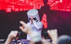 Indir duvar kağıdı DJ, Marshmello, müzisyen, konser, süper, DJ Marshmello