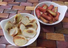 Chips de Kani e Inhame Assados - Na Biroskinha