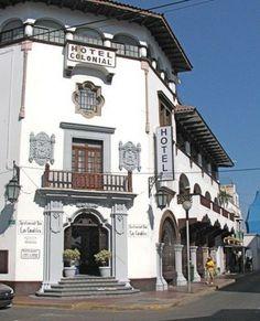Colonial Hotel, Mazanillo, Colima, Mexico Fascinating Mexico  http://www.travelandtransitions.com/our-travel-blog/mexico-2010/