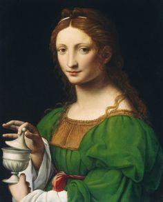 LUINI Bernardino - Ittalian (1480 1532) ~ Maria Magdalena