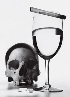 bad-ass Irving Penn still life. teenvogue: Does your best friend always get stoned at parties? Is your parent an alcoholic? Teen Vogue reports on how to cope if there's an addict in your life »