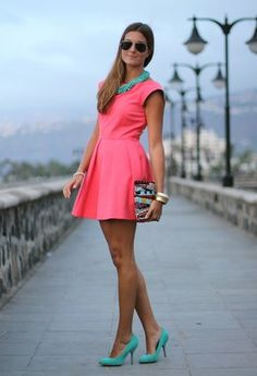 Coral and Turquoise Inspiration