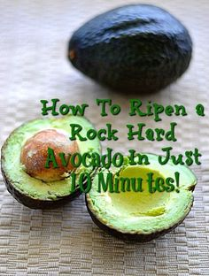 How To Ripen A Rock