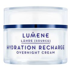Lumene Lahde Hydration Recharge Overnight Cream - 1.7 oz.