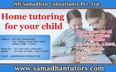 Home tutoring for your child