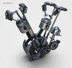 Anatomy of a Harley-Davidson