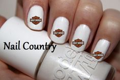 Harley Davidson Nail Decals Art Best And Prices Online Nc602 Y 3 Hair Make Up N Nails Pinterest