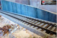 Maqueta española. HO - HOm. Épc. IV - VI. Ferrocarriles de la Península Ibérica.: Diorama expositor. Escala H0. Parte III.