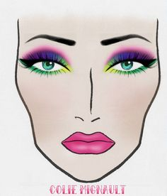 319 Best Face charts images in 2019   Makeup face charts ...