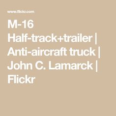 M-16 Half-track+trailer | Anti-aircraft truck | John C. Lamarck | Flickr Lego Vehicles, Aircraft, Trucks, Aviation, Truck, Planes, Airplane, Airplanes, Plane