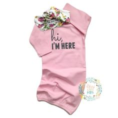 Items similar to Baby girl gown Pink gown Gray hi, I'm here baby gown Baby girl coming home outfit - grey gown going home set brand new, baby shower gift on Etsy Twin Baby Girls, My Baby Girl, Baby Baby, Swag Outfits, Girl Outfits, Gigi And Max, Grey Gown, Girls Coming Home Outfit, Kid Swag