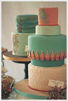 ~Coral + Tiffany Blue Weddings~