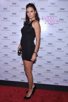 Adriana Lima Takes Her Bump For A Stroll Down The Red Carpet