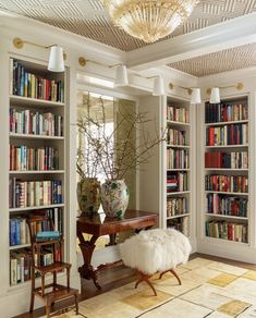 library bedroom rooms