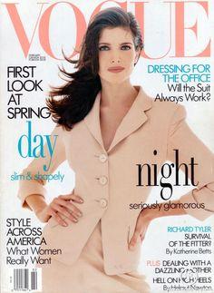 Vogue US February 1995 - Stephanie Seymour