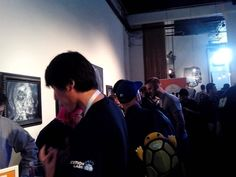 Pitching some more -  SF 2014 , 111Minna Gallery