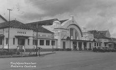 Hoofdpostkantoor in Batavia, 1942.