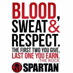 Spartan Race : Earn your respect. #WhyIRace #SpartanRace For more...