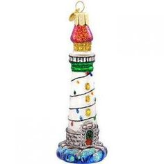 OWC Old World Christmas Holiday Lighthouse Ornament at Sears.com