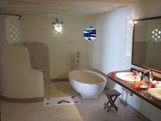 Matemwe Lodge Bathroom  Zanzibar | Holiday | Africa | Beach